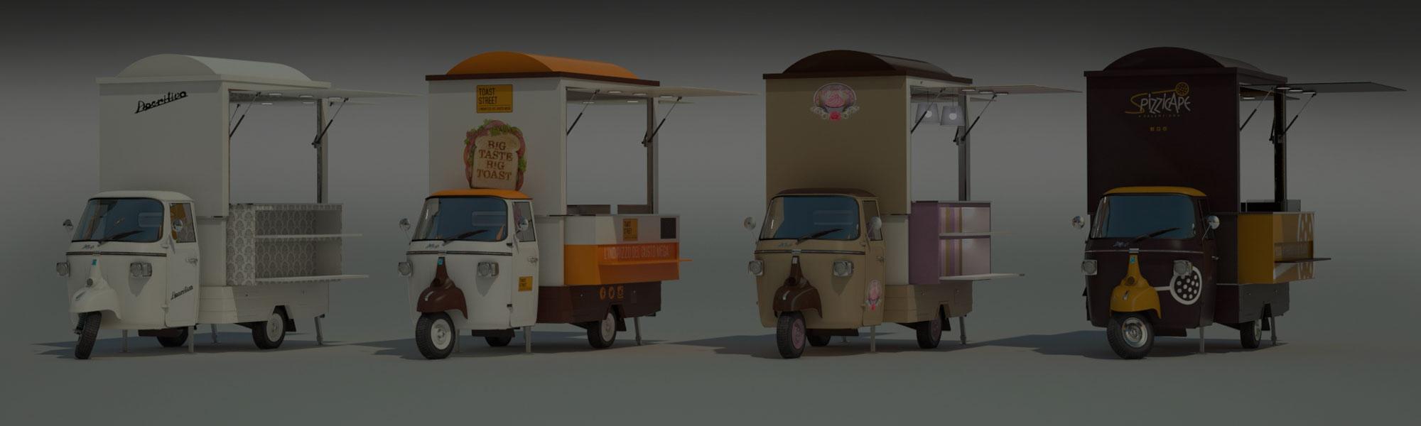 Street food business Ape