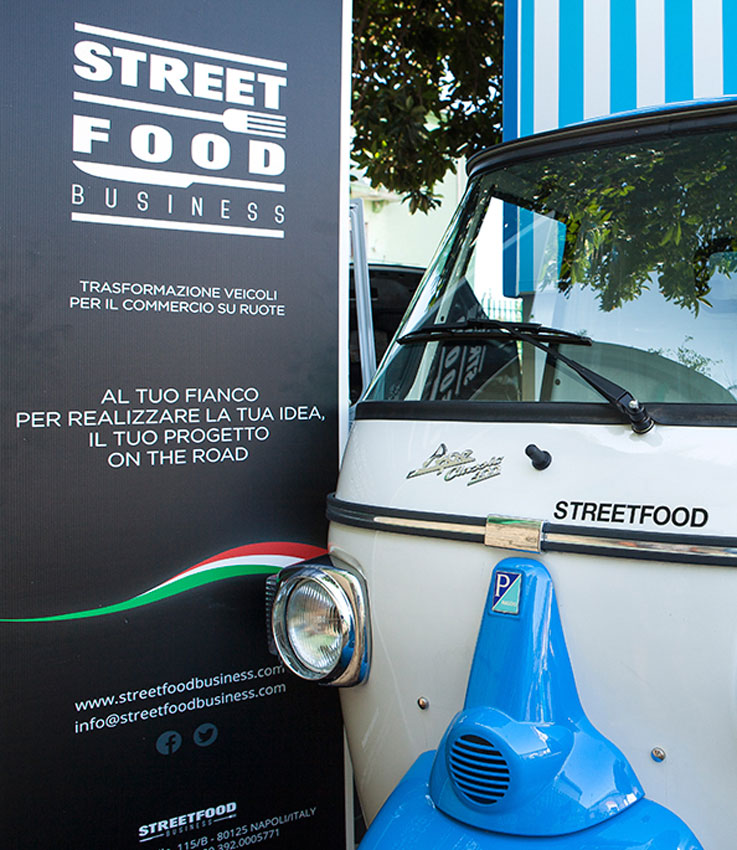 street food business azienda ape