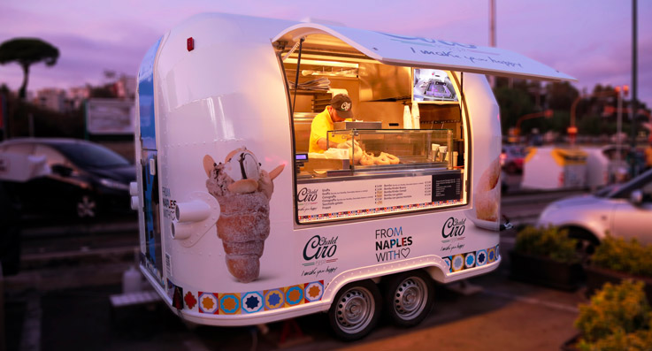 rimorchio street food business