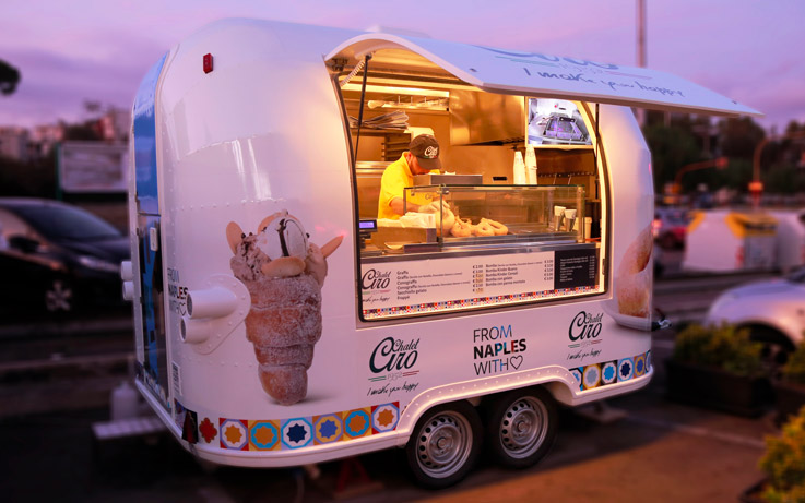 street food business noleggio